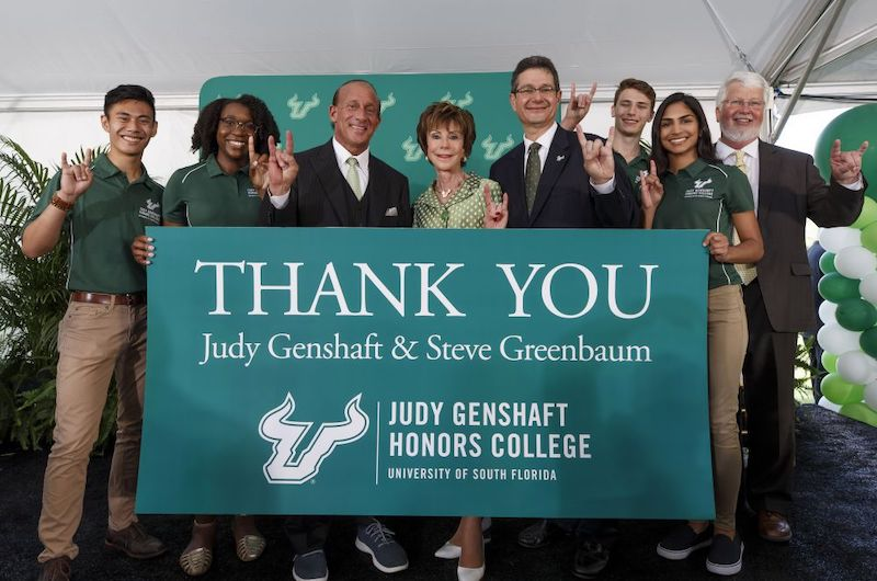 The Judy Genshaft Honors College