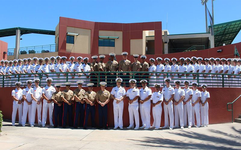 USF NROTC's Road to Tulane University Drill Meet